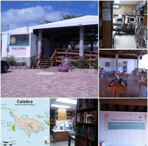 Culebra library collage